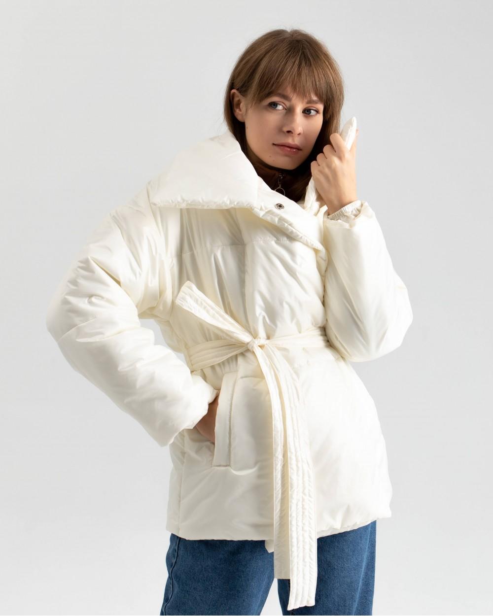 """Куртка """"Biscuit"""" молочна"""