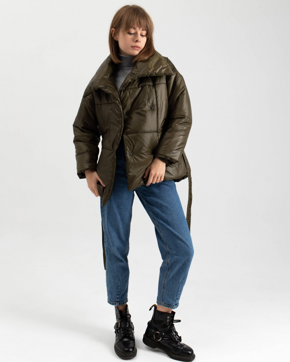 "Куртка ""Biscuit"" хакі"