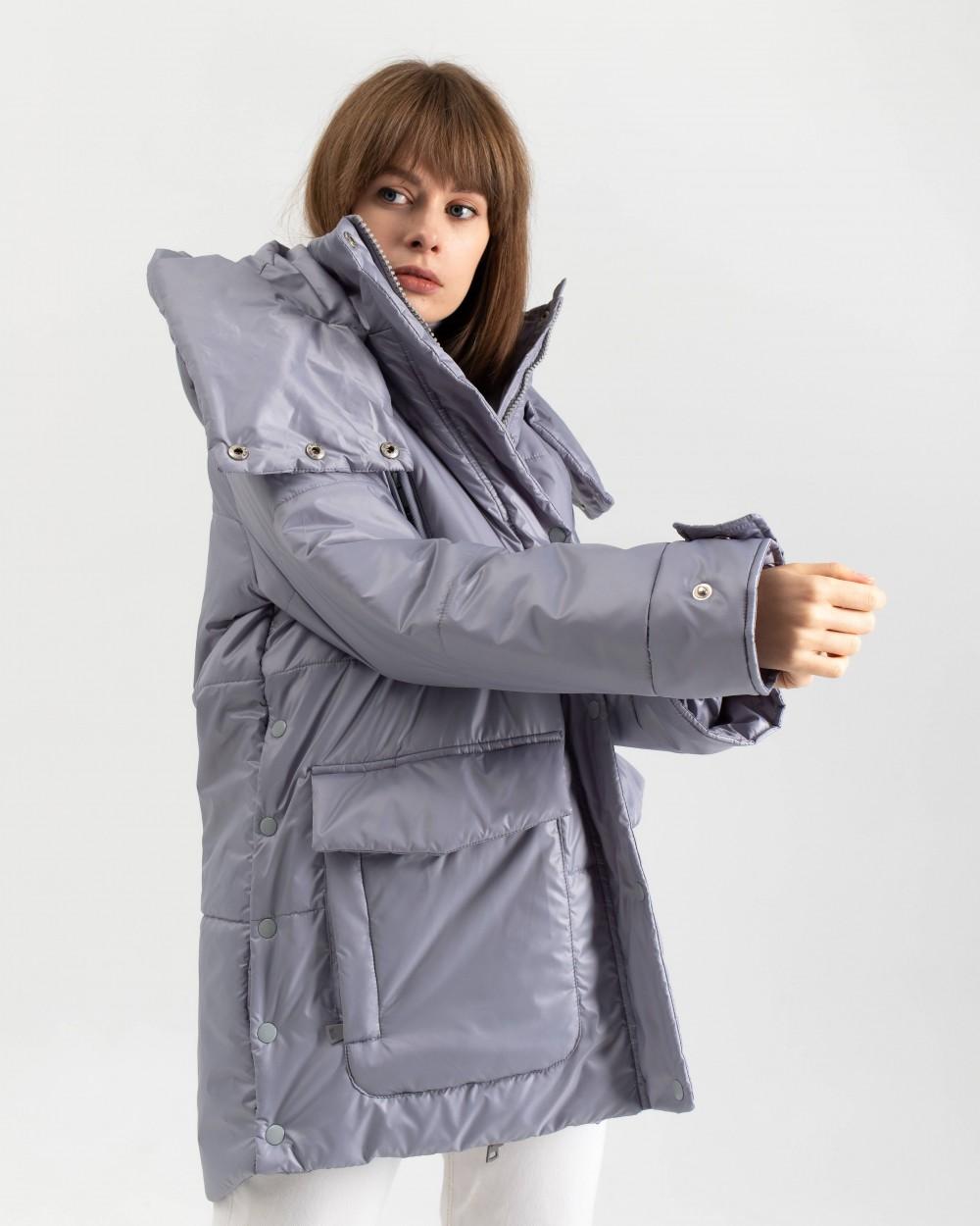 """Куртка """"Kylie"""" сіра"""