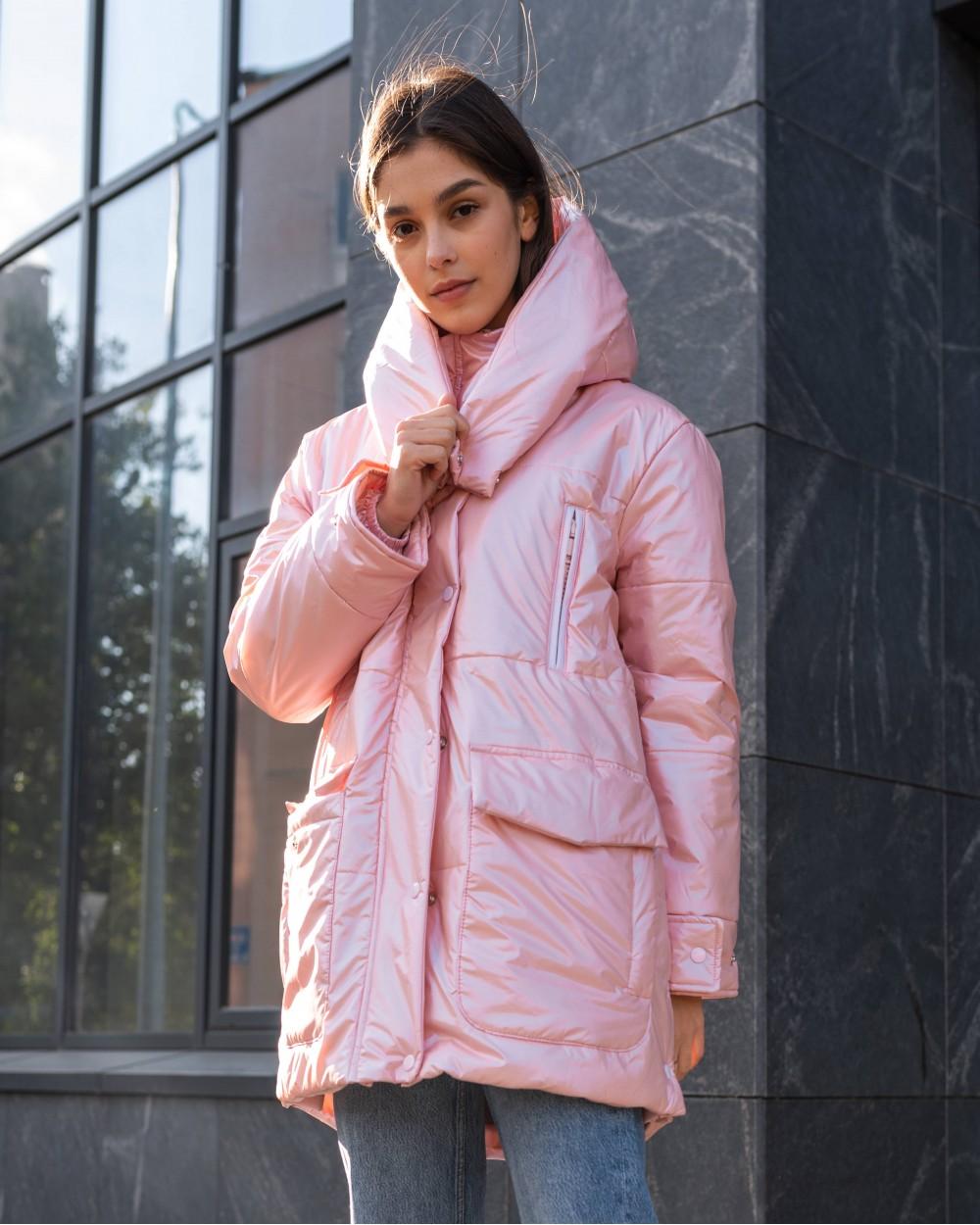 """Куртка """"Kylie"""" рожева"""