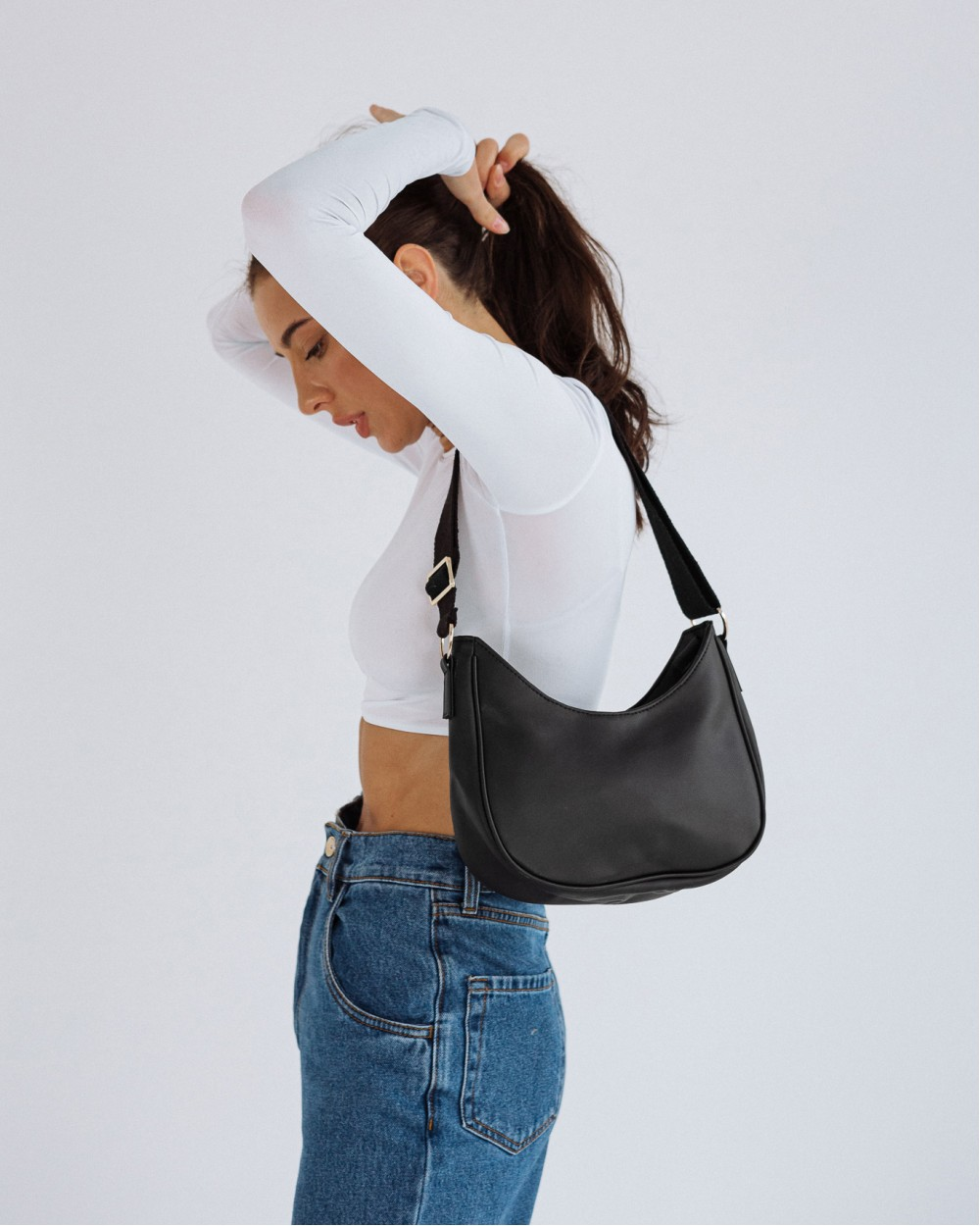 """SADDLE BAG"" чорна"