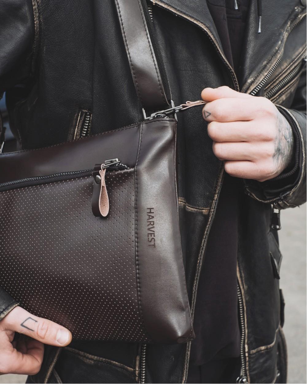 """СУМКА """"SMART BAG"""" екошкіра, коричнева"""