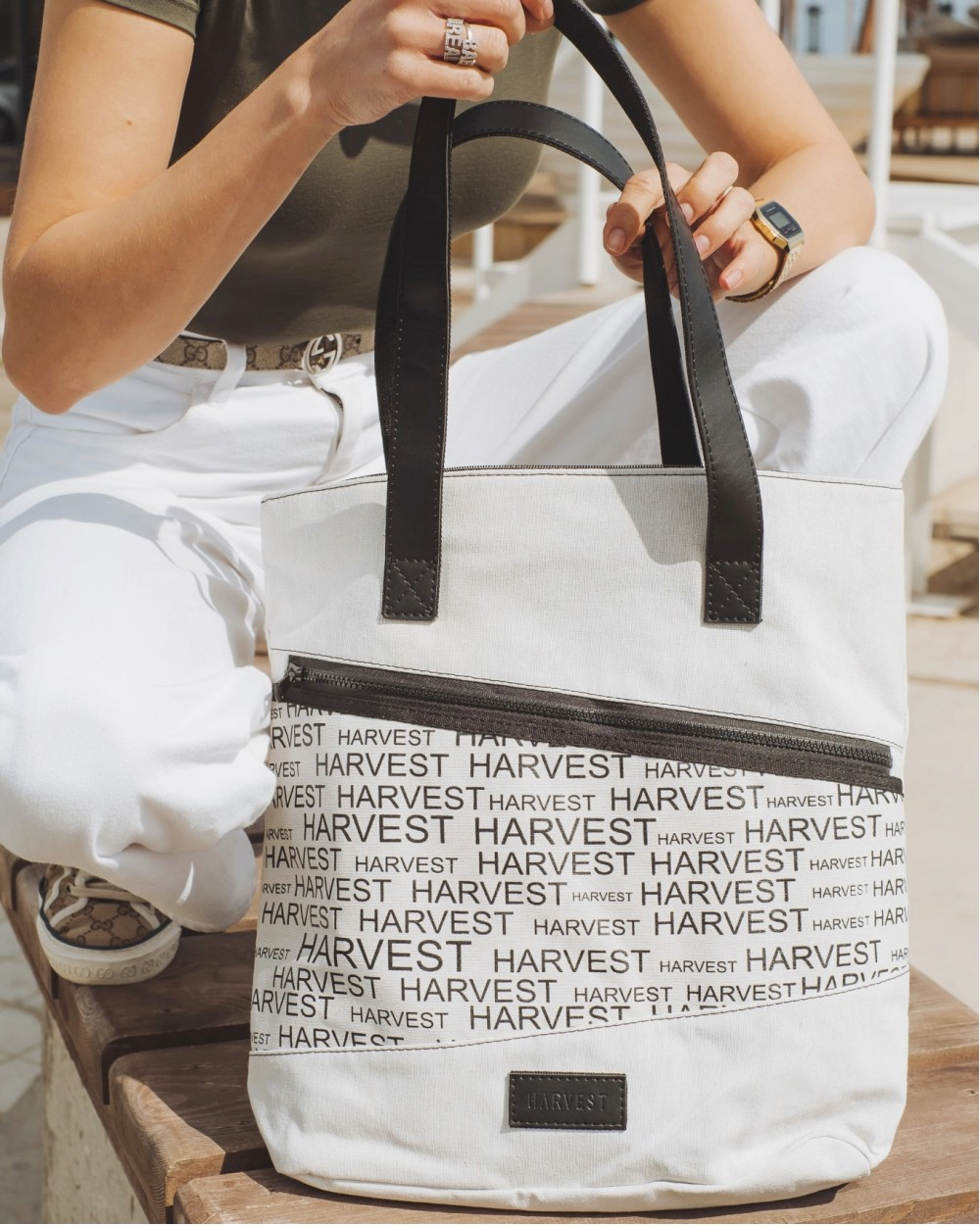 """Training bag medium"" льон (32*14*38)"