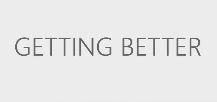 Мы непрерывно анализируем Ваш feedback и становимся лучше