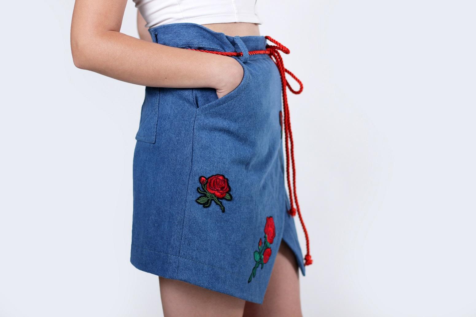 Сшить джинсовую юбку